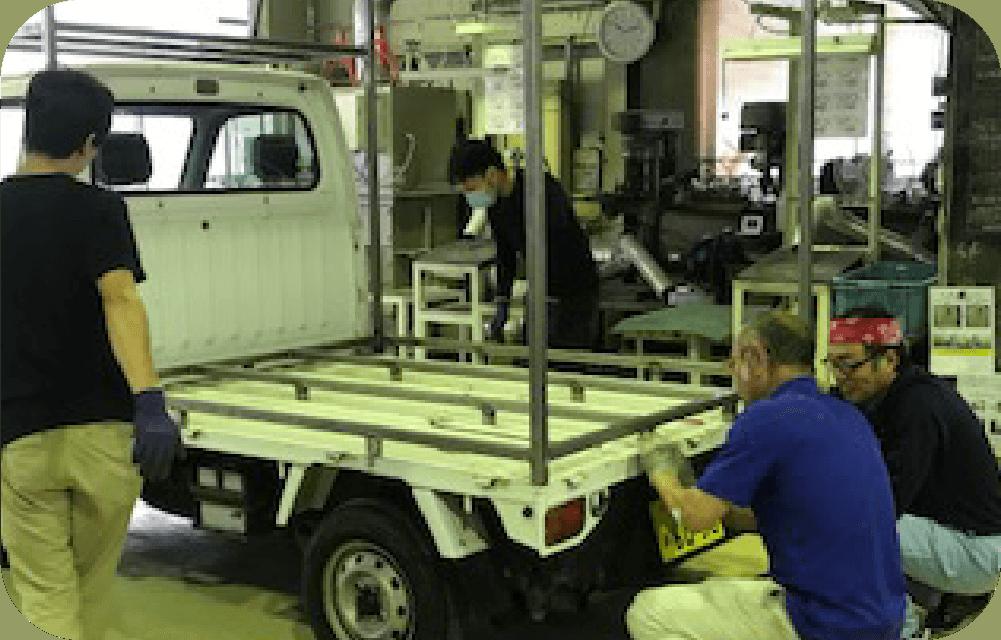 MANUFACTURE オリジナルのキッチンカーもオーダーメイドで製造いたします